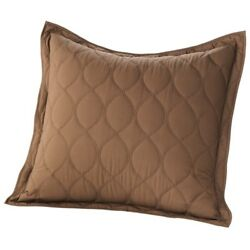 Sonoma Brown Euro Sham 26x26 new without packaging #45