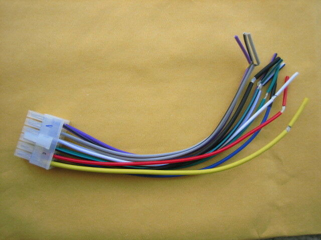 details about dual wire harness 12 pin for mcp1237bt, mcp1374bts, am505bt
