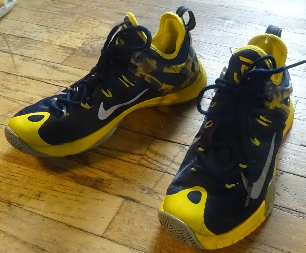 new arrival c8029 a9c2d Nike Zoom HyperRev 2015 Paul George Talla 8 Azul Amarillo Pacers   eBay
