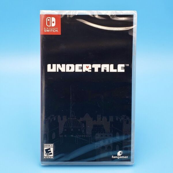 Undertale w/ Illustrated Storybooklet (Nintendo Switch) Physical US Version