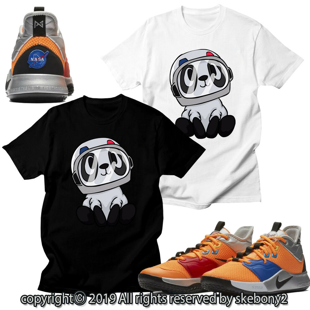 Details about CUSTOM T SHIRT matching STYLE OF PG 3 NASA Nike PG 1-4-2 5ec0b5da35d9