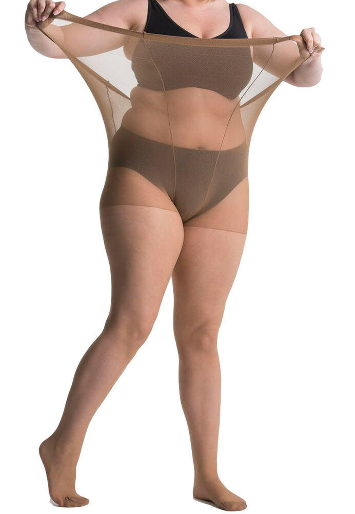47716f89339 Details about All-Woman 20 Denier Plus-Size XXL Tights Tall Extra Large  Wide Sizes UK 22-42