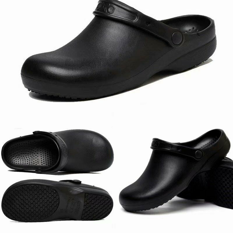 Non Slip Chef Shoes For Men Women Kitchen Safety Shoes Wear