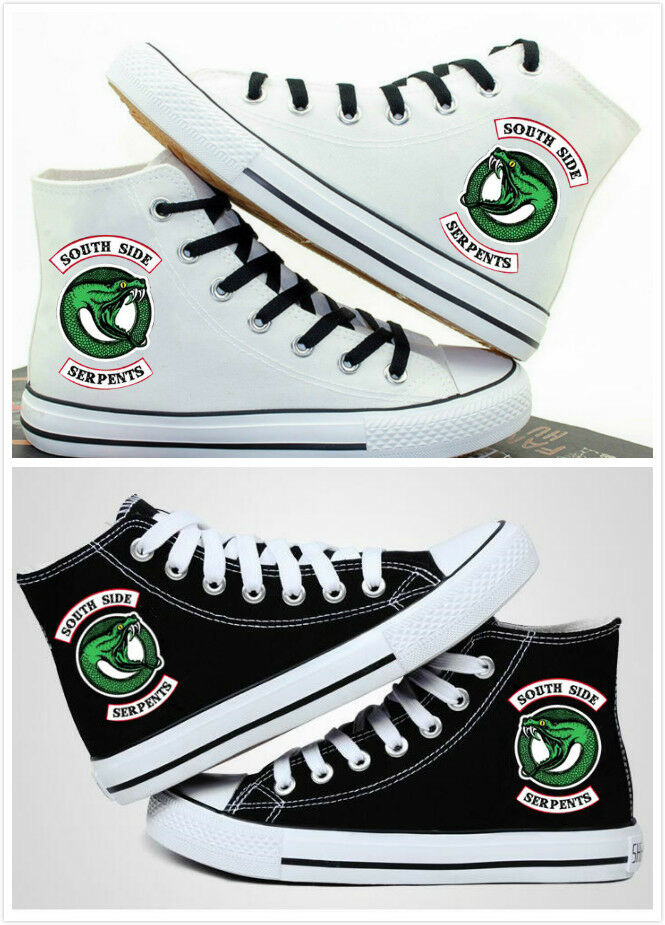 New Riverdale High Help Casual Canvas Shoes Men And Women Movement