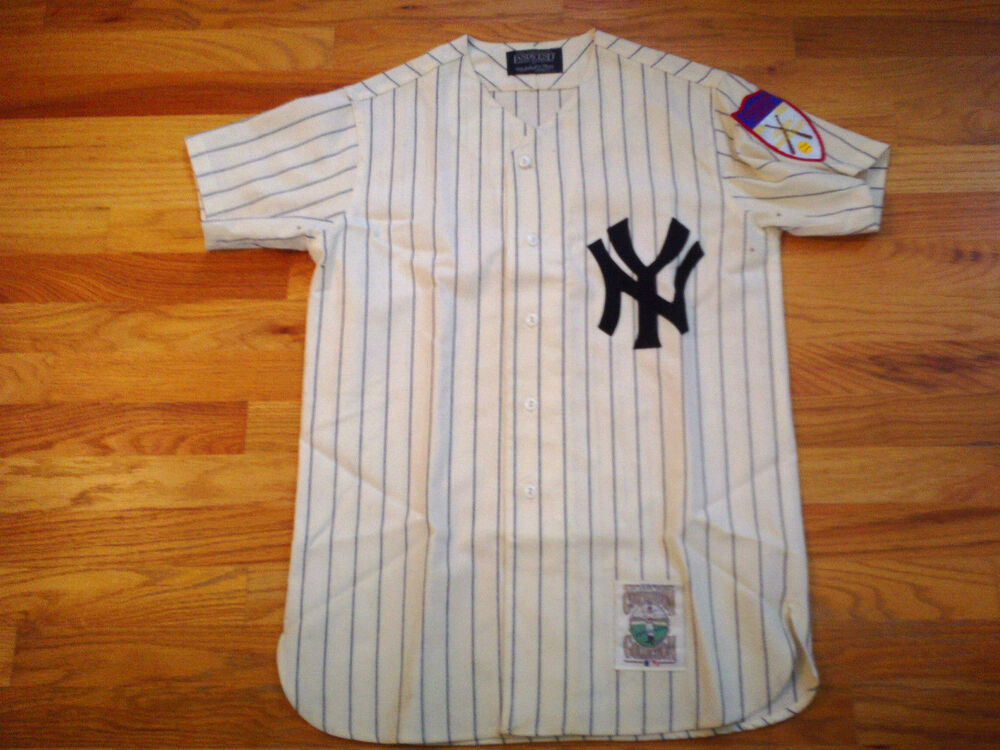 Details about New York Yankees Mickey Mantle  7 Jersey Mitchell Ness Lands  End    Rare    4ea266f2379