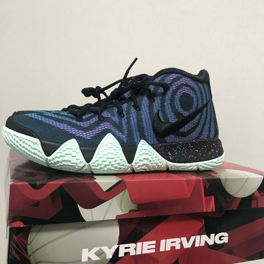 60f4618f07a7 Details about Nike Kyrie 4 Decades Pack The 80 s Basketball Shoes 943806-007  Size 7-12