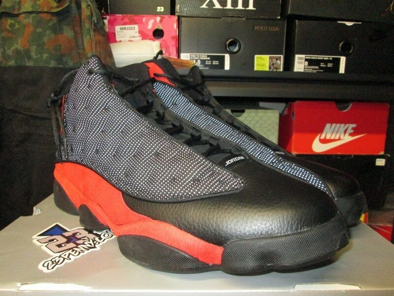 fd70d62cbbf Details about NEW AIR JORDAN 13 RETRO BRED BLACK TRUE RED 414571 004 XIII  SIZE 16 18 2017