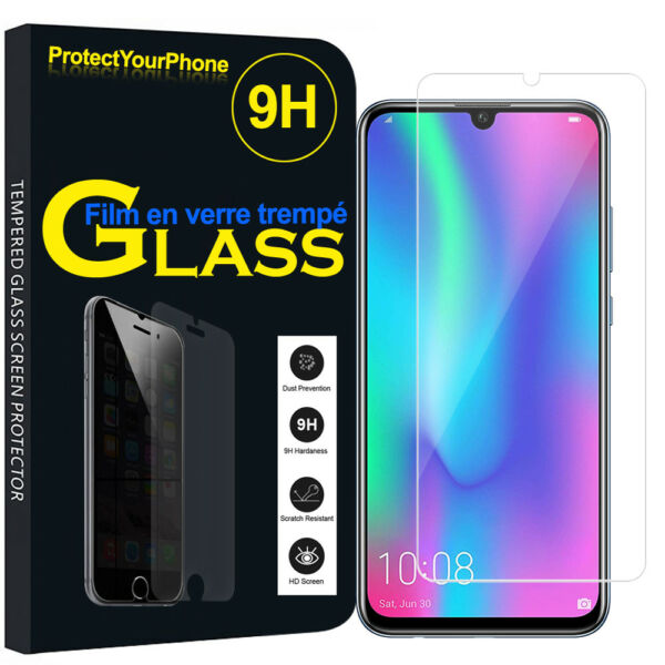 Vitre Protection Écran Film Verre Trempe Huawei Honor 10 Lite 6.21