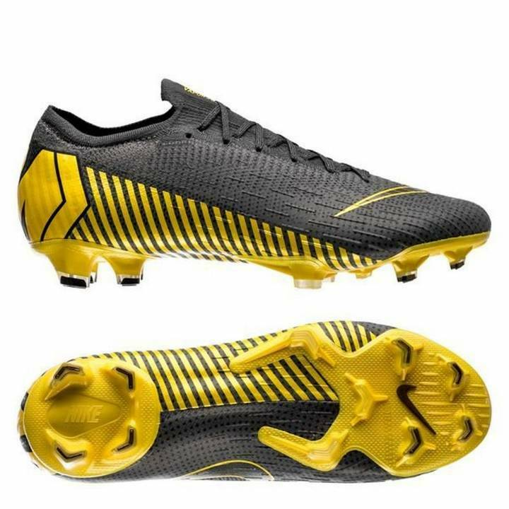 818f1a9c7e7 Details about Nike Mercurial Vapor XII 12 Elite FG Firm Ground Football  Boots - Thunder Grey
