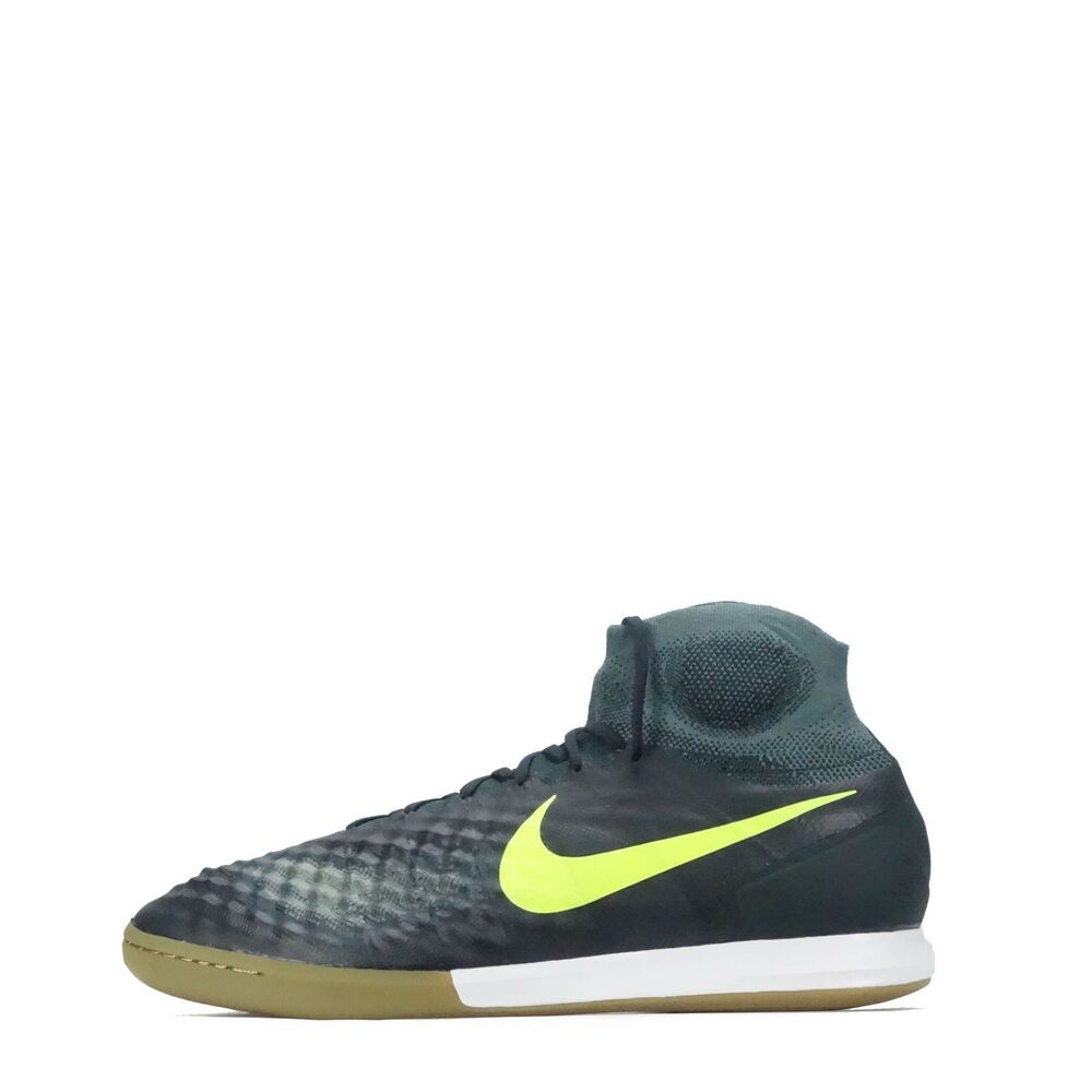 buy popular f6096 5a7da Details about Nike MagistaX Proximo II 2 Indoor Court Men s Football  Trainers, Seaweed Volt