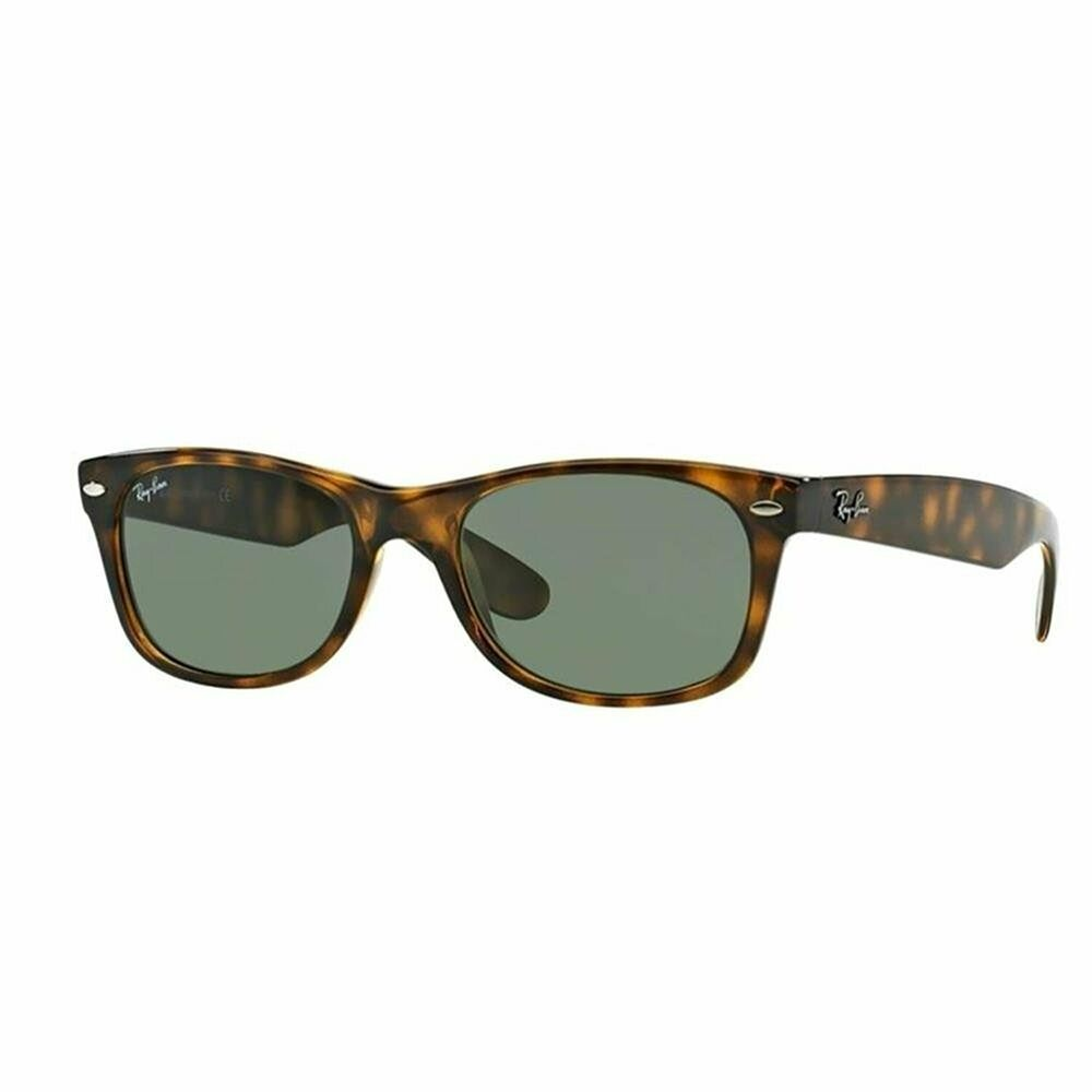0d251dfbcc Details about Ray-Ban RB2132 902 New Wayfarer Classic Sunglasses Tortoise   Green Classic 55mm