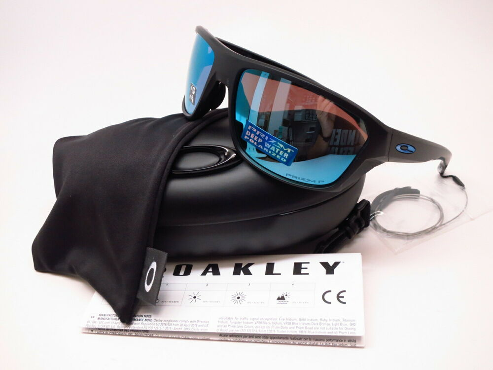 7d5e57ede2f7c Details about Oakley Split Shot OO9416-0664 Matte Black w Prizm Deep H2O Polarized  Sunglasses