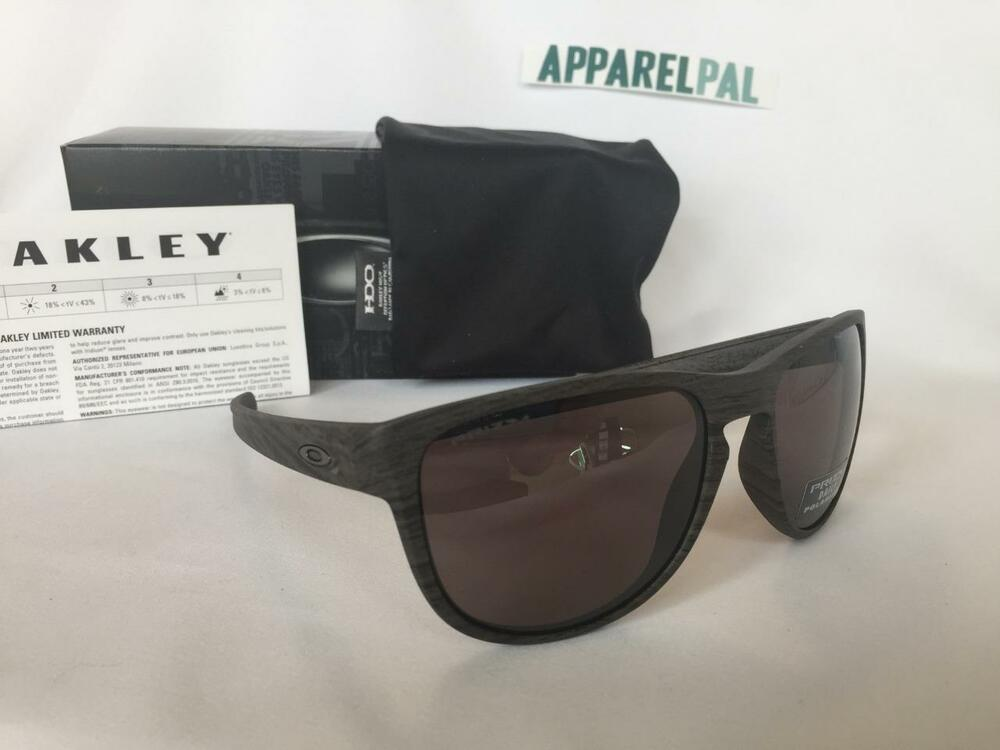 f565c66d415 Details about New Oakley Sliver R Round POLARIZED Sunglasses  Woodgrain Prizm Daily OO9342-11