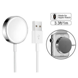 Kyпить For Apple Watch Magnetic Charging Cable Charger 38/40/42/44mm Series 1/2/3/4/5 на еВаy.соm