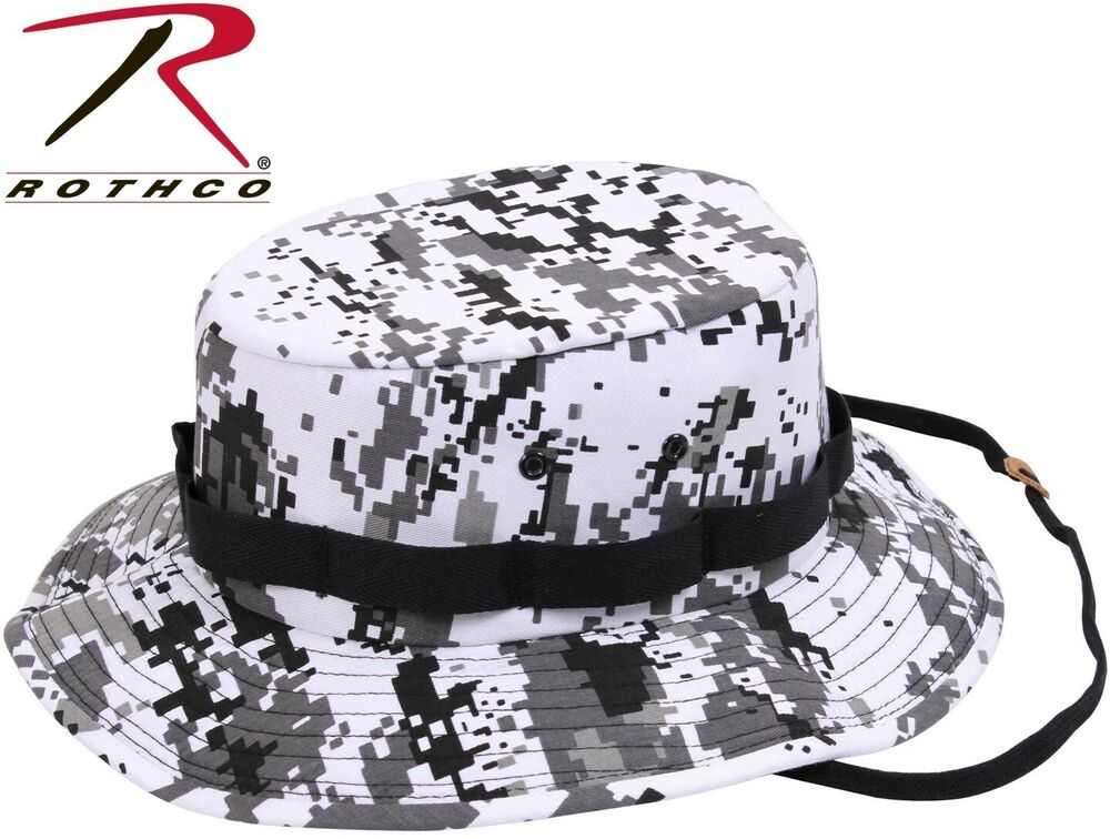 bf2042136bd Details about Kid s   Adult City Digital Camo Military Style Boonie Hat  Bucket Jungle Hat 5460