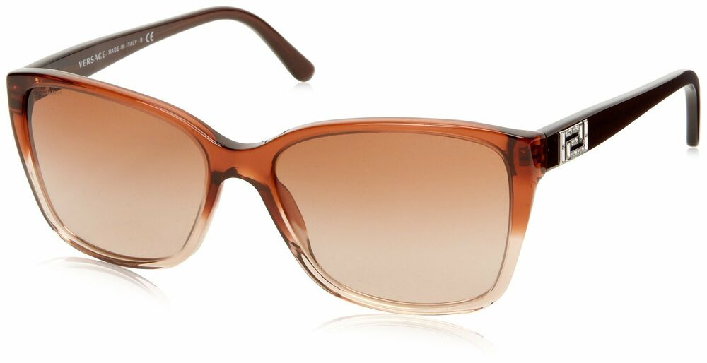 4b61066b88bf Details about Versace VE4268B 5091 13 509113 Dark Brown Transparent  Brown  Gradient Sunglasses