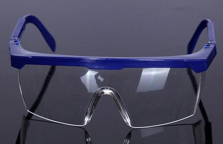 ebec10ace6d7 Details about Adjustable Safety Glasses Work Goggles Clear Lens Anti Impact    Scratch   Dust