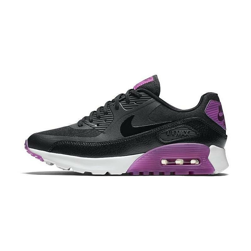low priced 00892 351d1 Details about Wmns Nike Air Max 90 Ultra Essential UK 4 EUR 37.5 Black  Purple Dust 724981 003