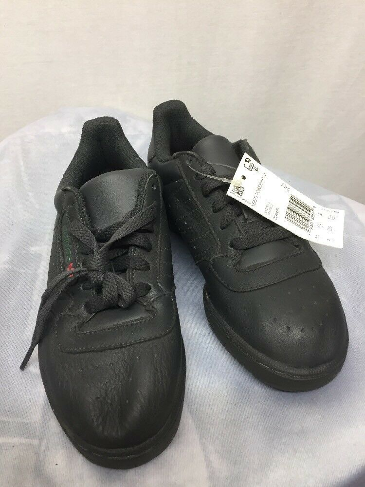 b62c6b1272c Details about Adidas Yeezy Powerphase Calabasas Black CG6420 Youth Shoes  Size 4 Kanye West