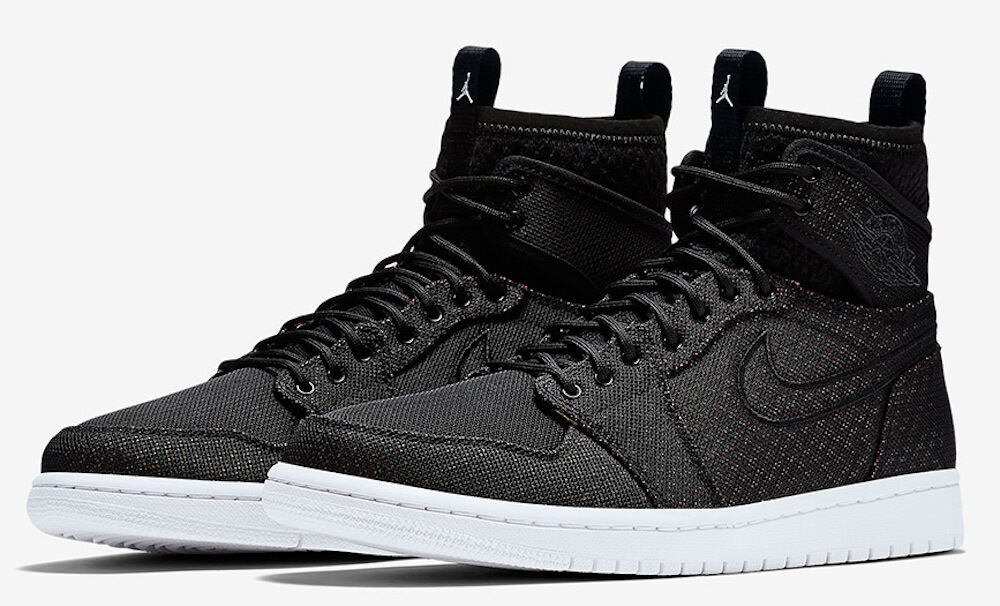 more photos 1a34f 1d6d1 Details about Size 11 Men s Nike Air Jordan 1 Retro Ultra High 844700 050  Fashion Casual Black