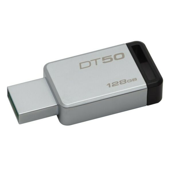PEN DRIVE CHIAVETTA KINGSTON DATATRAVELER 50 16GB 32GB 64GB 128GB USB 3.0