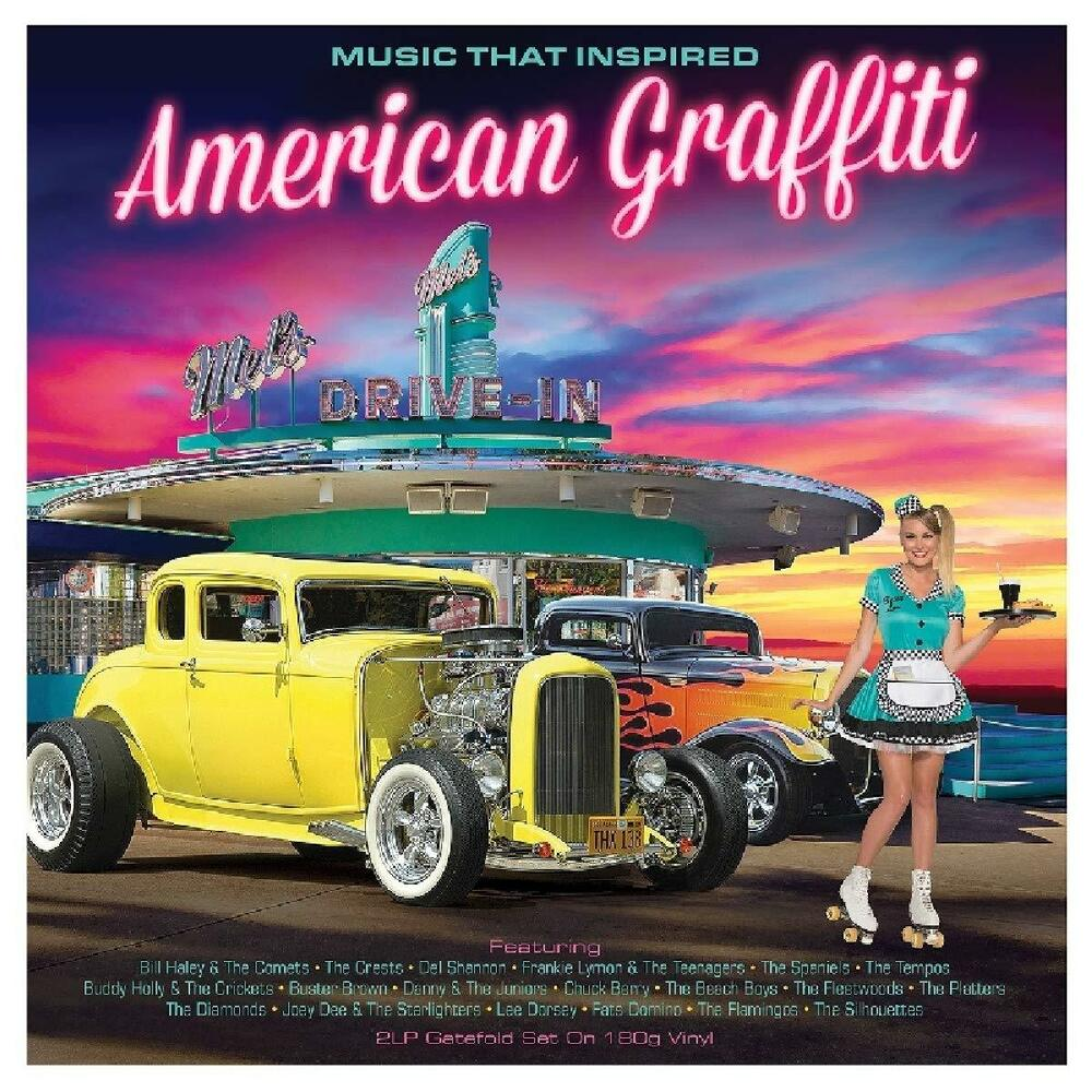 Details about music that inspired american graffiti 2lp 180g gatefold vinyl lp record