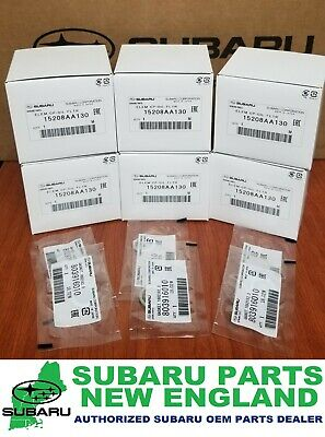 Genuine OEM Subaru Engine Oil Filter & Drain Plug Gasket 15208AA130 (6-PACK)