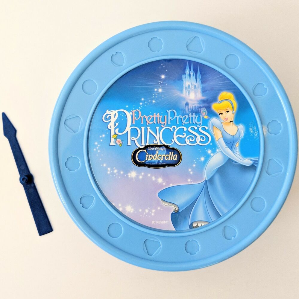 Details about Disney Pretty Pretty Princess Cinderella Game Replacement Parts Jewelry Box Spin