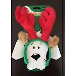 Large Brown Outward Hound Kyjen PP01763 Holiday Antlers Wearable Dog Accessories