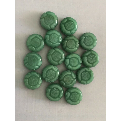 natural-aventurine-gemstone-carved-coin-beads-loose-beads-16-loose-beads