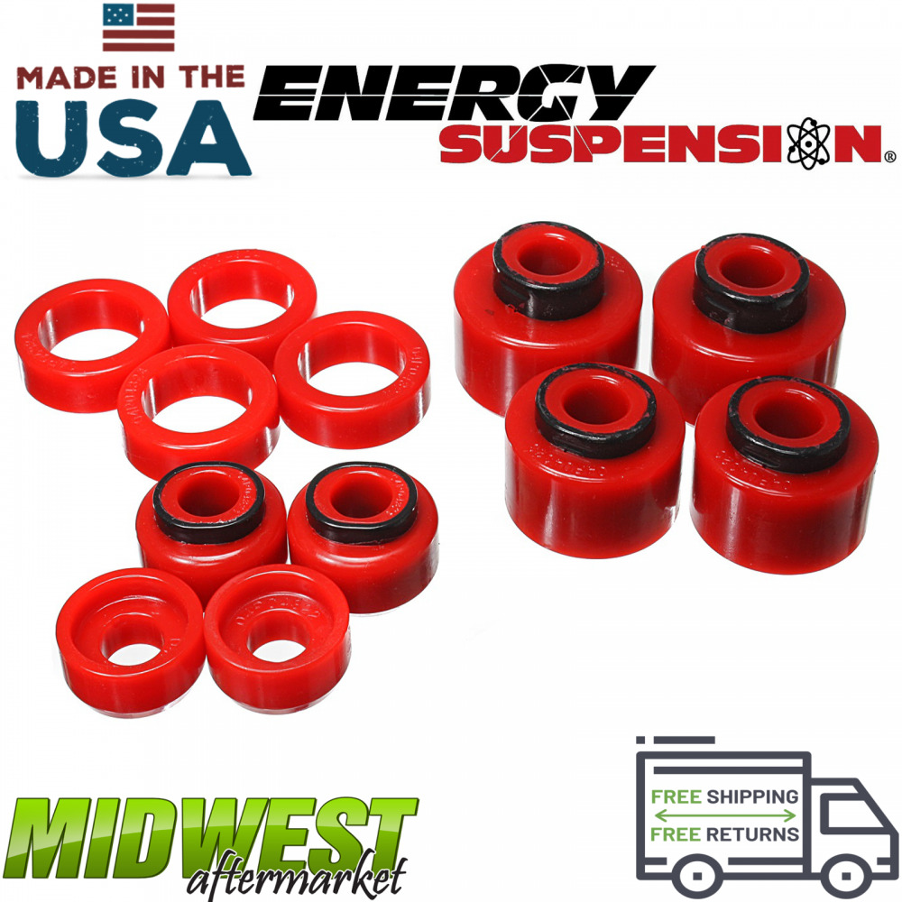Energy Red Suspension Body Mount Set Fits 1999