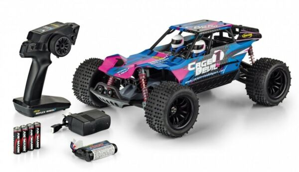 Carson (Tamiya Germany) 404141 Cage Devil 4WD 1:10 Ready To Run Monster Truggy