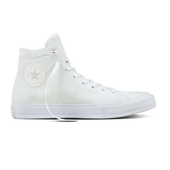 b7ad06149b4a Details about Size 6 Converse Chuck Taylor All Star High Top Sneakers  Plastic Pink CTAS White