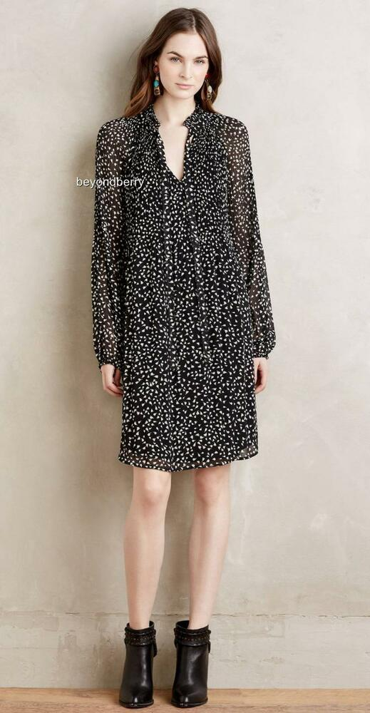fd143db3228d Details about NEW Anthropologie Saoirse Tunic Dress by Meadow Rue Size S