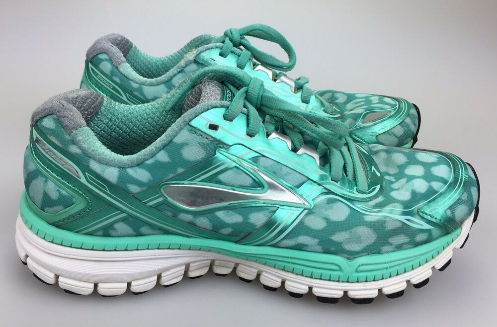 d919551a190bb Details about Brooks Ghost 8 Running Shoes Cloud Green Teal Blue Sneakers  Women s Sz 7.5