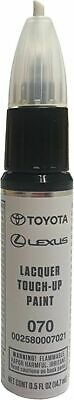 Genuine Toyota 00258-00070-21 White Pearl Touch-Up Paint 070 (.5 fl oz 14 ml)