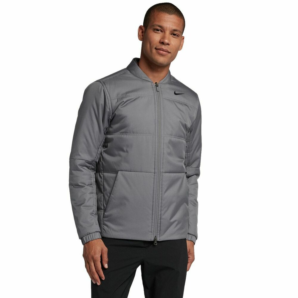 215f47745 Details about Nike Men's Synthetic-Fill Golf Jacket Style: 932309 MSRP $150  Grey