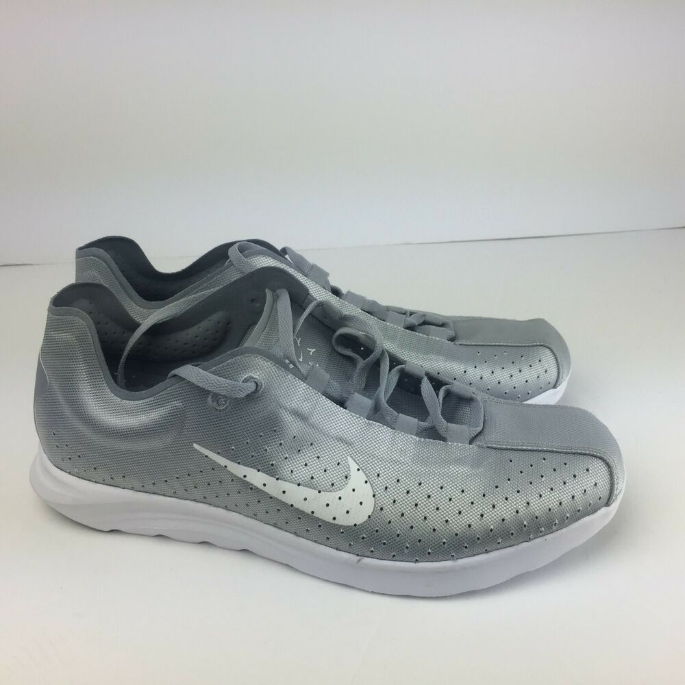 87565219b94c6 Details about Nike Mayfly Lite BR Wolf Grey White-Stealth 898027-001 Men s