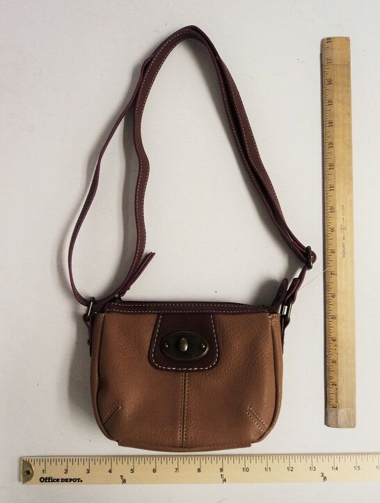 e946ac6f8b49e3 Details about Womens BOC Born O Concept Tan with Brown & Burgundy Purse  Hand Bag Style Tote