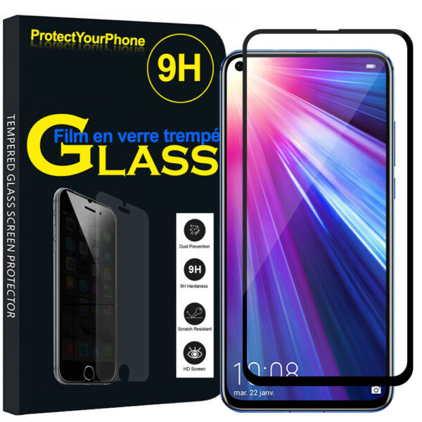 Vitre De Protection Écran Film Verre Trempe Huawei Honor View 20 6.4