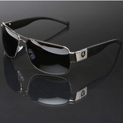 Kyпить Polarized Sunglasses Retro Square Pilot Anti-Glare Driving Fishing Men Glasses на еВаy.соm