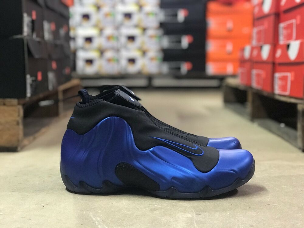 reputable site f0f58 1d4dc Details about Nike Air Flightposite Mens Basketball Shoe Blue Black AO9378  500 NEW Multi Sizes