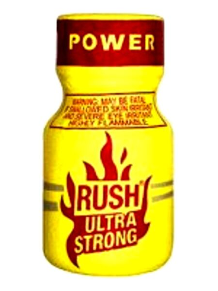 RUSH ULTRA STRONG POPPER originale x HARD rave party AROMA