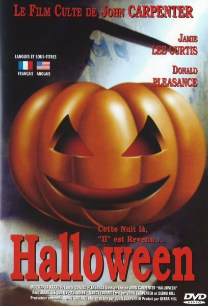 DVD HALLOWEEN -JOHN CARPENTER- EXC ETAT - INDISPENSABLE ! HORREUR / VINTAGE 70S