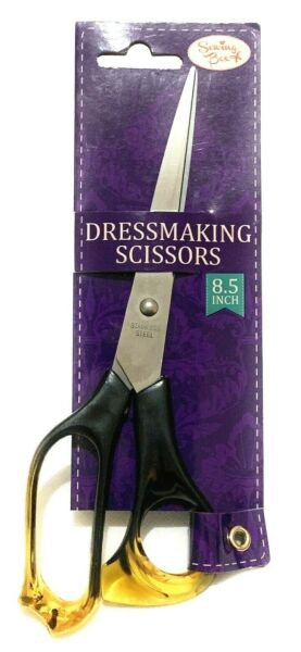Stainless Steel Dressmaking Scissors Tailoring Sawing Box Shears - 8.5 Inch