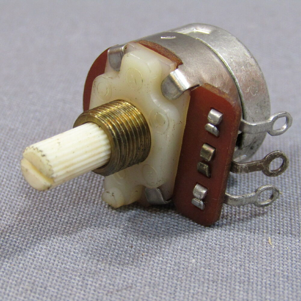 10X CTS Potentiometer 1M Audio Taper w/ SPST switch Amp Guitar Ham Radio Vintage  | eBay