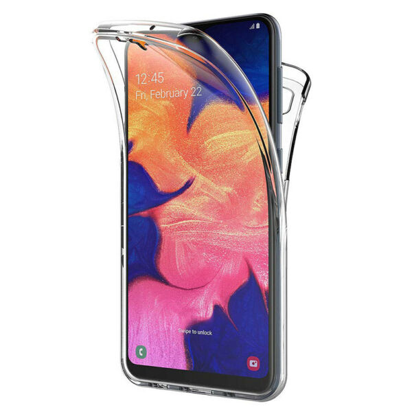 Coque Silicone Protection 360° Avant et Arrière Samsung Galaxy A10 6.2