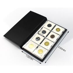 Kyпить  10 Pages Coin Stock Book 80 Pocket Album for 2x2 Paper Flip Holders Storage на еВаy.соm