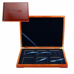 Kyпить Solid Wood Display Storage Box Case for 6 Certified Coin Holder Slab PCGS or NGC на еВаy.соm