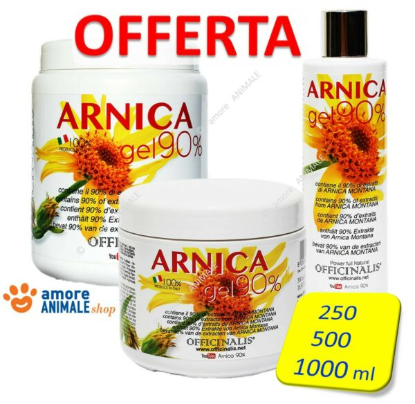 Officinalis ARNICA 90% Gel → 10 / 250 / 500 / 1000 ml - Distorsioni muscolari